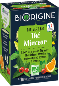 Packaging de l'infusion Minceur