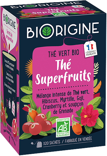 Packaging de Superfruits